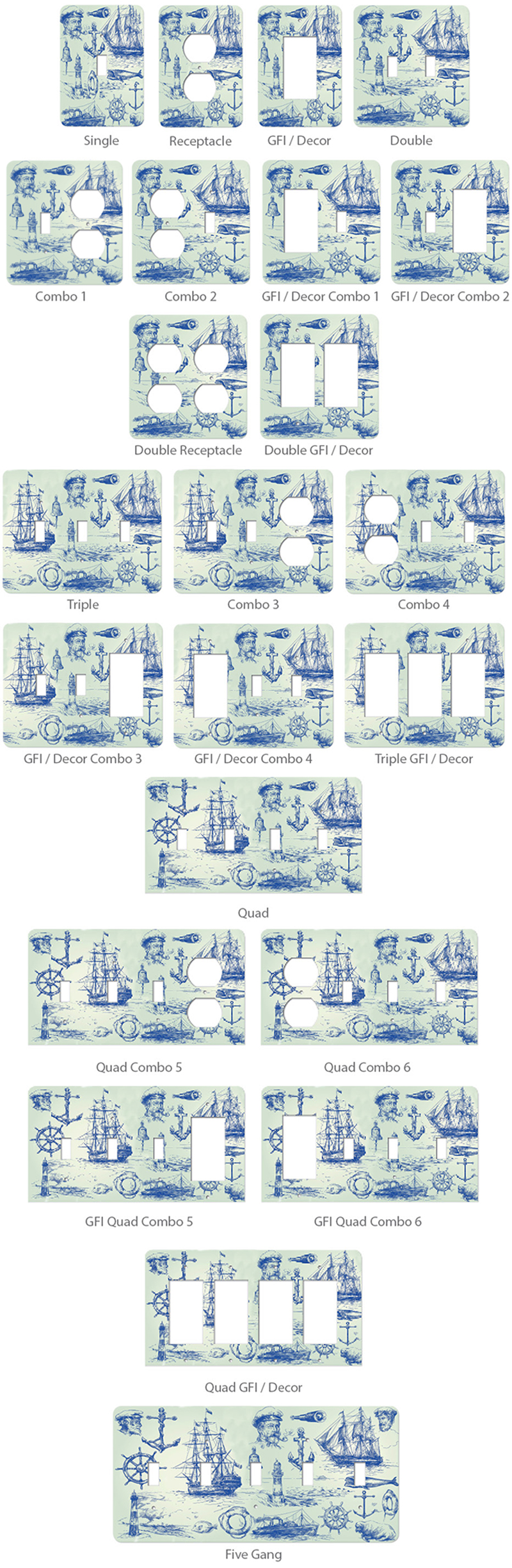 Switchplate Gallery - Charming Decorative Light Switch Covers
