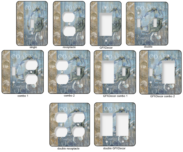 Laundry Room Light Switch Plates